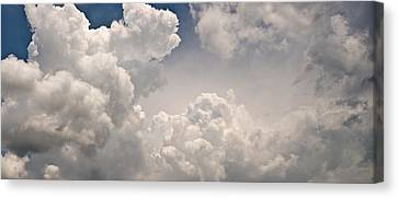 Panoramic Clouds Number 9 Canvas Print by Steve Gadomski