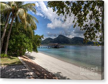 Paradise Island Canvas Print by Adrian Evans