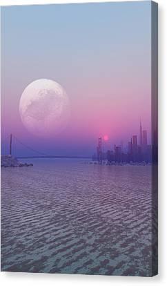 Parallel Universe, Artwork Canvas Print by Take 27 Ltd