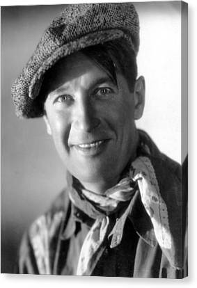 Paramount On Parade, Maurice Chevalier Canvas Print by Everett