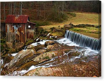 Pardue Mill Canvas Print by Rick Mann