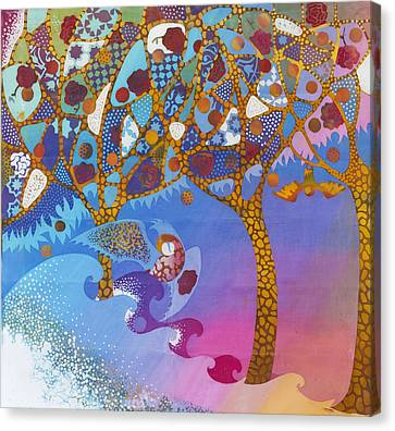 Park Guell. General Impression. Canvas Print by Kate Krivoshey