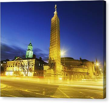 Parnell Square, Dublin, Ireland Parnell Canvas Print by The Irish Image Collection