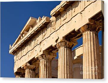 Parthenon Canvas Print by Brian Jannsen