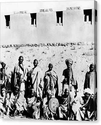 Pashtun Tribe In The 1930s, In What Canvas Print by Everett