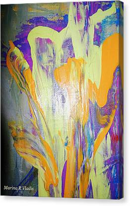 Passion Of The Mind Canvas Print by Marina R Vladis