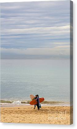Pastel Manly Morning Canvas Print by Avalon Fine Art Photography