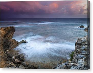 Pastel Storm Canvas Print by Mike  Dawson