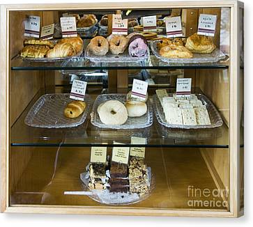 Pastry Items For Sale Canvas Print by Andersen Ross