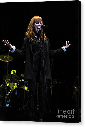Pat Benatar Live In Melbourne Canvas Print by David Peters