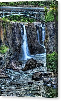 Paterson Great Falls Canvas Print by Paul Ward