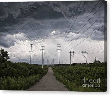 Path Of Doom Canvas Print by Joe Gee