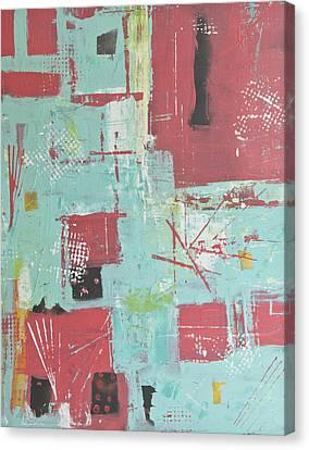 Patterns Canvas Print by Wayne Potrafka