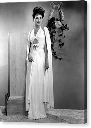 Paulette Goddard, Paramount Pictures Canvas Print by Everett