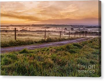 peace and quiet in the English coutryside Canvas Print by John Farnan