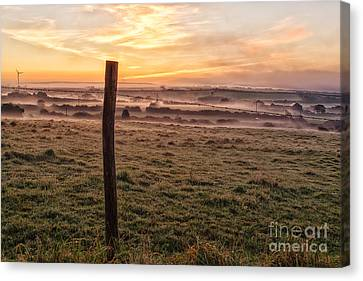 Peace And Tranquillity  Canvas Print by John Farnan