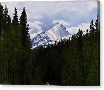 Peaking Peak Canvas Print by Roderick Bley