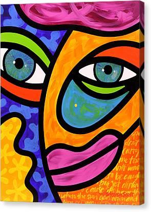 Penelope Peeples Canvas Print by Steven Scott