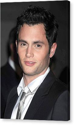 Penn Badgley At Arrivals For Fashion Canvas Print by Everett
