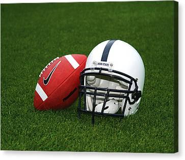 Penn State Football Helmet Canvas Print by Joe Rokita