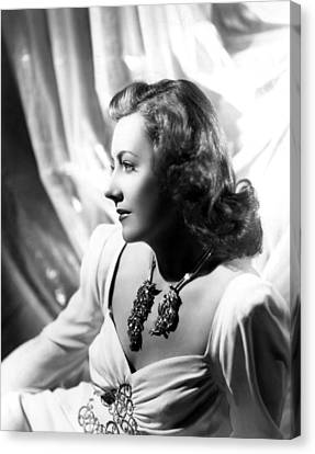 Penny Serenade, Irene Dunne, 1941 Canvas Print by Everett