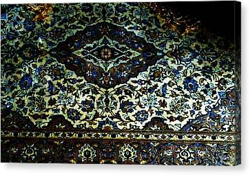 Persian Rug Canvas Print by Unique Consignment