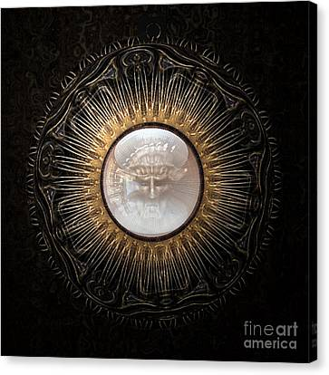 Personal Amulet Canvas Print by Jan Willem Van Swigchem