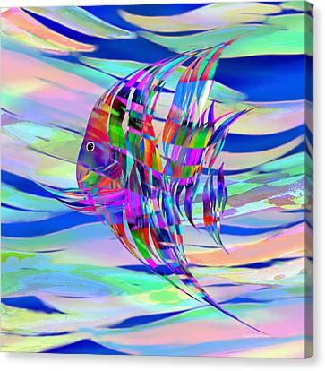 Pescado Aqui Canvas Print by Wally Boggus