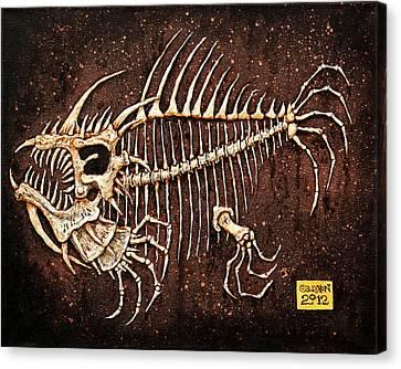 Pescado Seis Canvas Print by Baron Dixon
