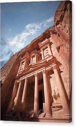 Petra, Jordan Canvas Print by Michael Holst Images