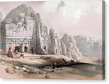 Petra  Canvas Print by Munir Alawi