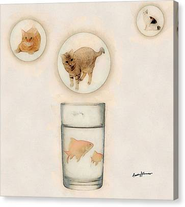 Phantasmagoria Canvas Print by Anthony Caruso