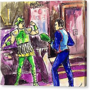 Phantom Empire Canvas Print by Mel Thompson