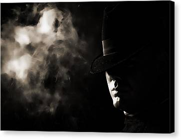 Phantom Canvas Print by Monte Arnold