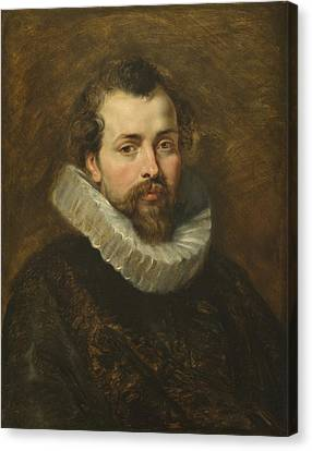 Philippe Rubens - The Artist's Brother Canvas Print by Peter Paul Rubens