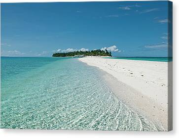 Philippines, Calangaman Island Canvas Print by Photo by Karl Lundholm