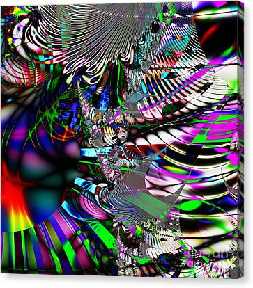 Phoenix Rising . Square . S3.s9 Canvas Print by Wingsdomain Art and Photography