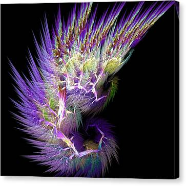 Phoenix's Wing Canvas Print by Lourry Legarde