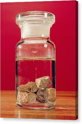 Phosphorus In A Jar Canvas Print by Andrew Lambert Photography