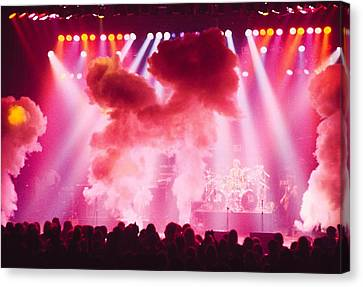 Photo Of Concert Canvas Print by Fin Costello