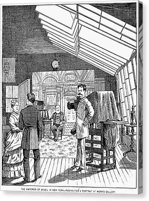 Photography Studio, 1876 Canvas Print by Granger