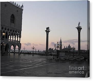 Piazetta. Venice Canvas Print by Bernard Jaubert