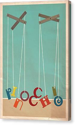 Pinocchio Canvas Print by Megan Romo