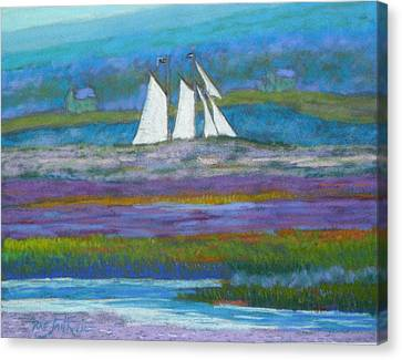 Pirates On The Lahave River Canvas Print by Rae  Smith PSC