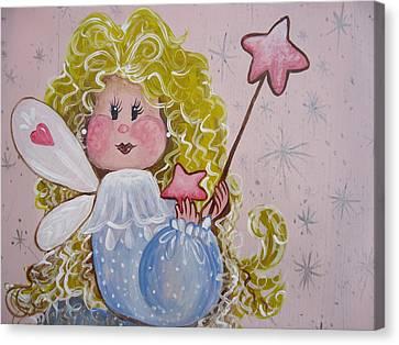 Pixie Dust Canvas Print by Leslie Manley