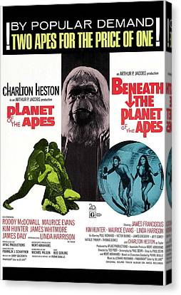 Planet Of The Apes, 1968 Canvas Print by Everett
