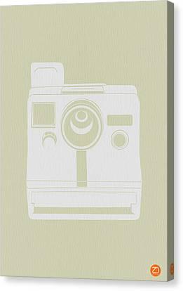 Polaroid Camera 3 Canvas Print by Naxart Studio