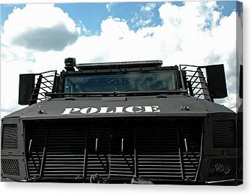 Police Force Canvas Print by LeeAnn McLaneGoetz McLaneGoetzStudioLLCcom