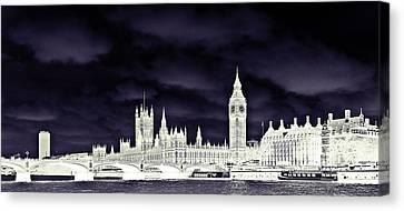 Political Storm Canvas Print by Sharon Lisa Clarke
