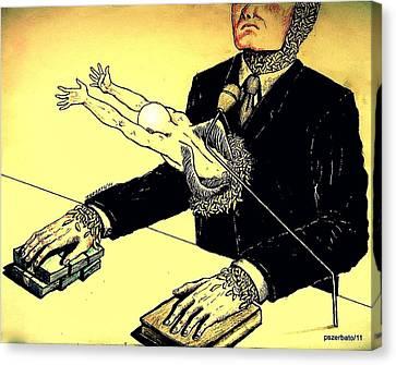Politics Without Idealism Canvas Print by Paulo Zerbato